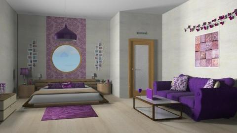 Sweet bedroom - Minimal - Bedroom  - by Nicky West