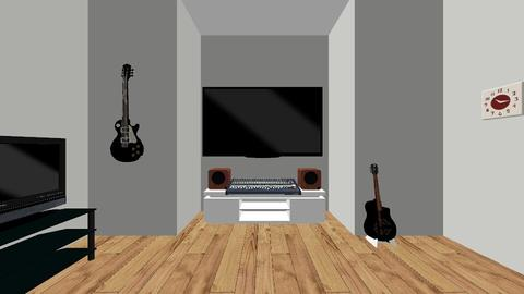 Music Studio - Modern - Office  - by Drumfill Studios