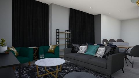 Benita  - Glamour - Living room  - by Carmen Hosten