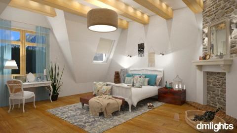 Farmhouse - Bedroom  - by DMLights-user-997247
