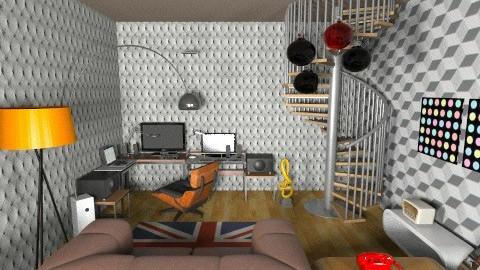 studio basement44 - Eclectic - Office  - by deedy saleh