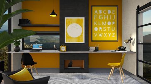 Sunny office - by Esko123
