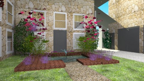 Front Entry 2 - Classic - Garden  - by PomBom