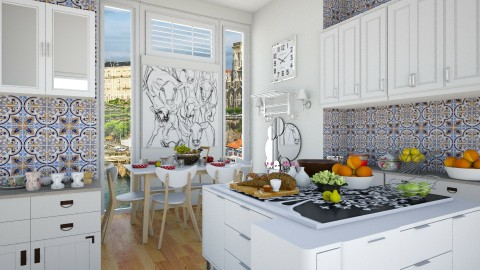 Summer kitchen - by Nari31