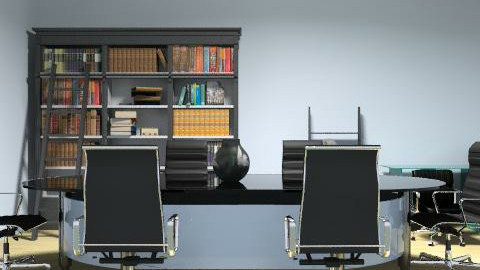 Meeting  - Minimal - Office  - by Mary Lee