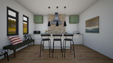 Modern Farmhouse kitchen - Kitchen  - by BubbleSloth