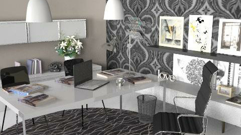 Office Design Project - Modern - Office - by terigillespie