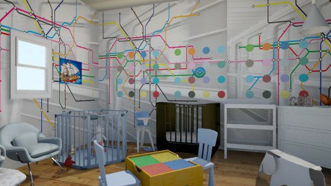 kiddie - Modern - Kids room  - by lolaahmed_15