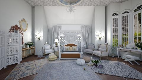 English rose - Bedroom  - by itshollyhi