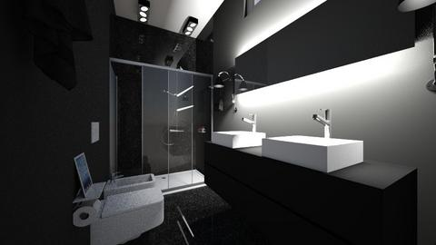 banheiro social - Modern - Bathroom  - by kelly lucena