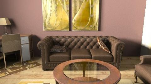 brown room6a - Living room - by cyberneko