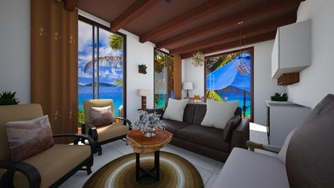 Hazel - Living room  - by nkanyezi