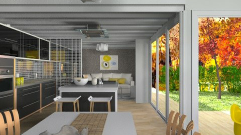 Compact living - Modern - Dining room  - by liling