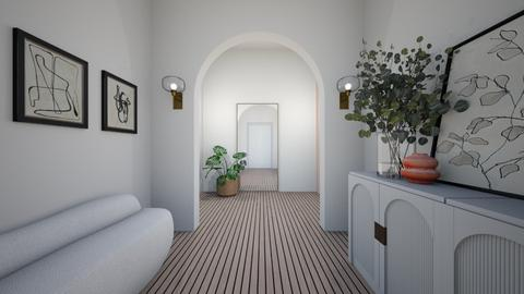 ORGANIC HOUSE P1 HALLWAY - by aestheticXdesigns