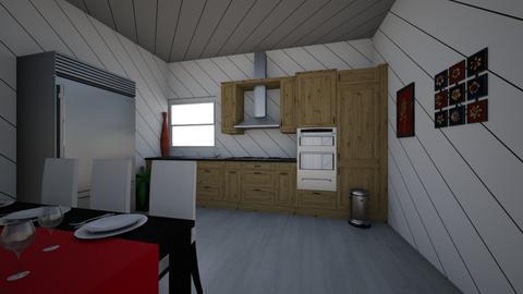 Kitchen Line - Kitchen  - by Student  Huertatj