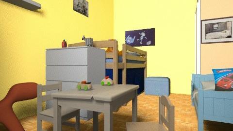cote_chambre_enfants3 - Eclectic - Kids room  - by bwebox
