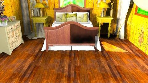test - Rustic - Bedroom  - by ATELOIV87