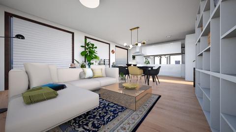ZH III no island - Modern - Living room - by jessyctw