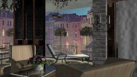 venice - Eclectic - Bedroom  - by chania
