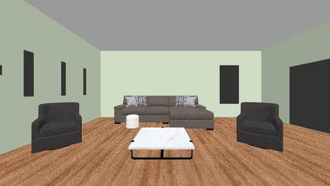 3D Living Room Practice - Living room  - by leahmeye8002