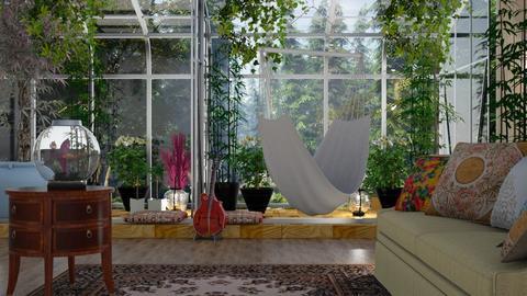 Bohemian interior - by BortikZemec