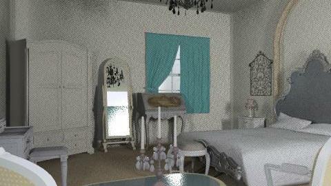 French bedroom - Classic - Bedroom  - by ioanavladut7