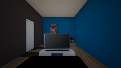 3d Room 1 - Bedroom  - by Dorrian Mitchell