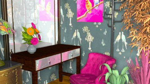 Vibrant Dressing Room - Eclectic - by amanda89ab