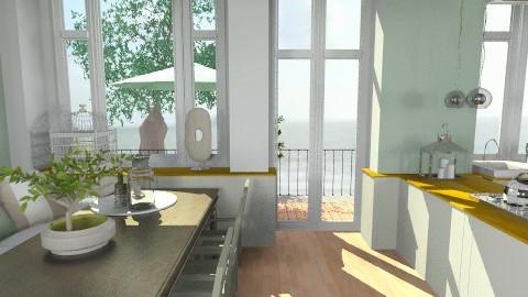 OLIVE KITCHEN211 - Country - Kitchen  - by naki1