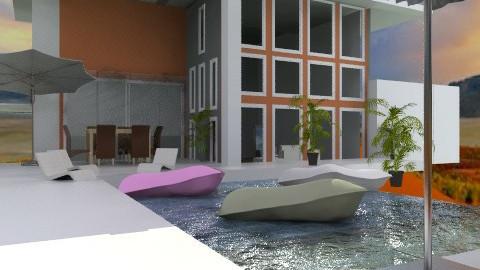 oasis? - Modern - Garden  - by calu13