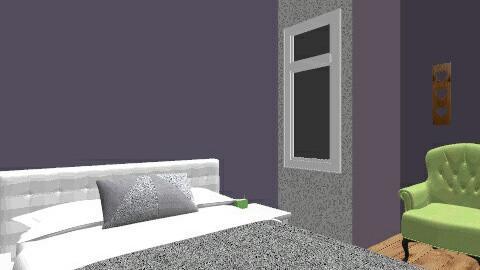 Asymmetrical Abbey Sigler - Modern - Bedroom - by AbbeySwagler