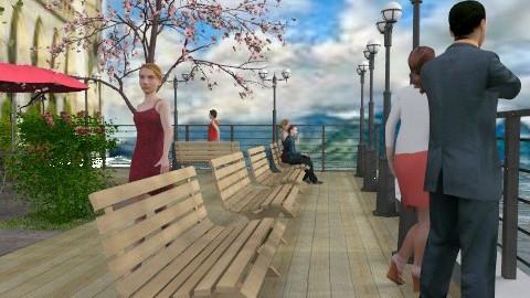 La promenade - Classic - Garden  - by Bibiche