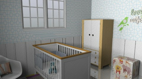 Retro Baby - Vintage - Kids room  - by sephara