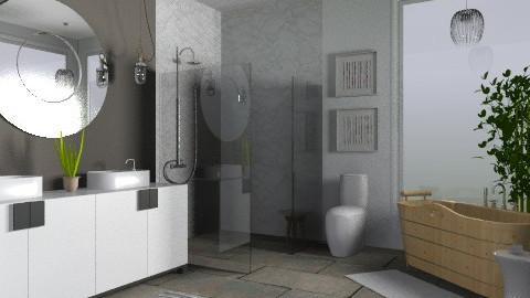 Random Spaces - Master Bath - Modern - Bathroom  - by LizyD
