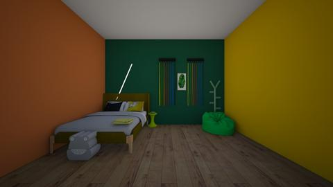 gons room - Bedroom  - by crying_room