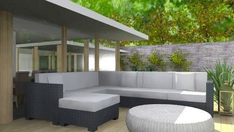 casa en el monte - Modern - Garden  - by cibelles