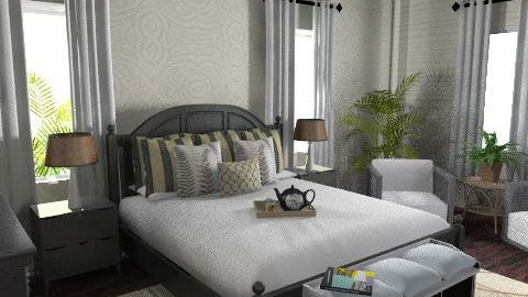 Plantation3 - Country - Bedroom  - by daisies4u2
