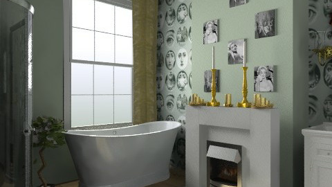 Green & Icon's - Glamour - Bathroom  - by Lisett