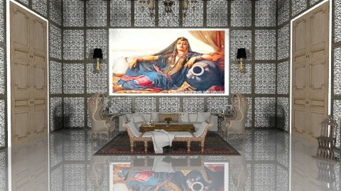 Orientalist Mix - Eclectic - Living room  - by AlSudairy S