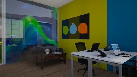 Derricks view - Office  - by Bwogyi