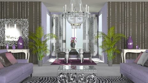 plan 3 - Glamour - Living room  - by babes101
