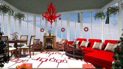 Christmas greatroom - Eclectic - Bedroom  - by wiljun