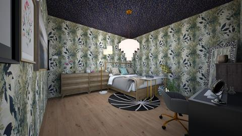 My Dreamm Bedroom - Minimal - Bedroom  - by XxdabuilderxX