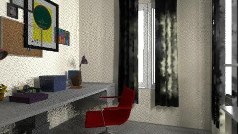 working rooms - Vintage - Office  - by bellabravis