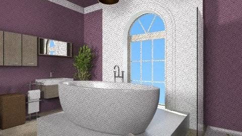 Cool modern bathroom  - Classic - by Michelle Ghosh  Design