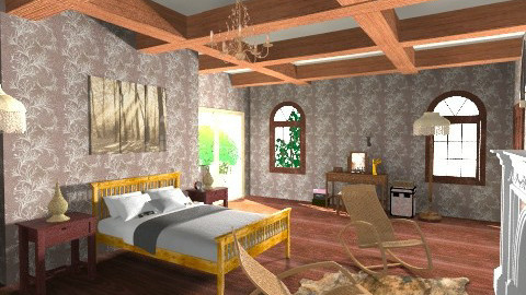 Livingspot - Country - Bedroom  - by Boccafella