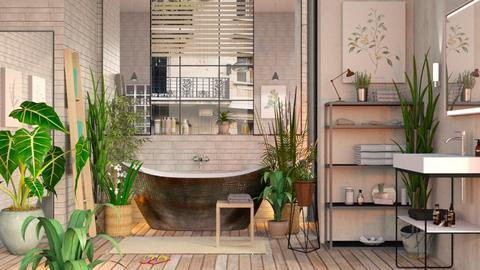 Urban Jungle Bathroom - Eclectic - Bedroom  - by Sally Simpson