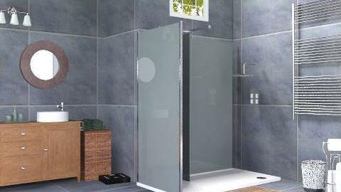 Midnight Bathroom - Minimal - Bathroom  - by deleted_1519128424_HeatherInWonderl