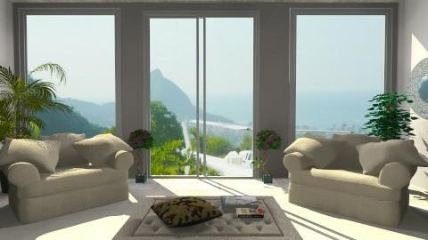 sala iluminada - Classic - Living room  - by kellassuncao
