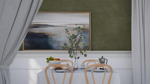 Birthdaycake - Modern - Dining room  - by HenkRetro1960